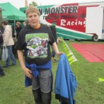 Christoph beim Tractor Pulling