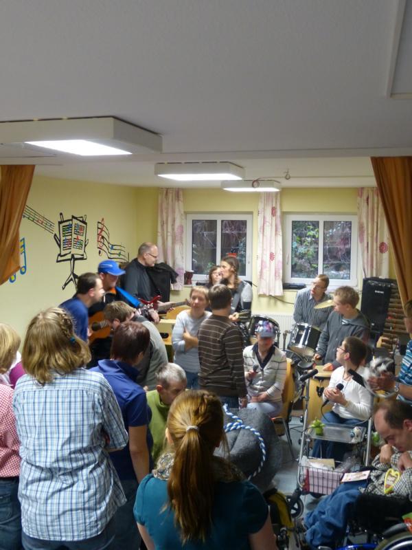 Konzert der Oktoberfestband
