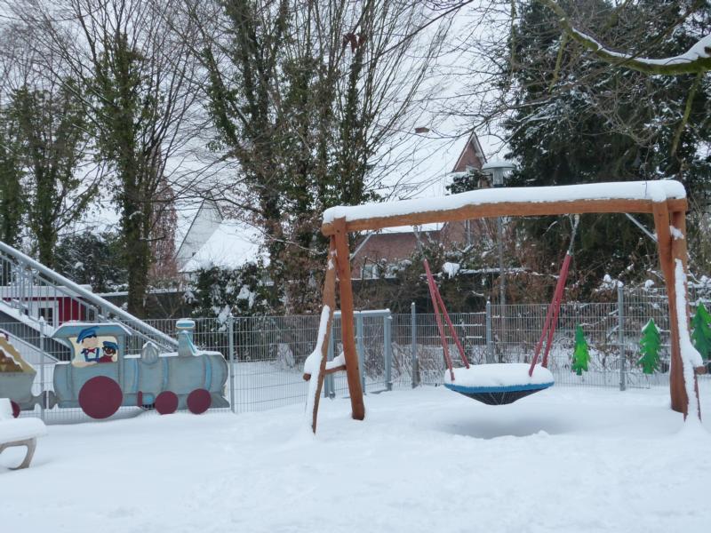 Das Lummerland versinkt im Schnee