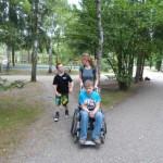 Niklas, Birte und Tim