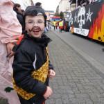 Jonas beim Karneval
