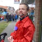Fabian beim Karneval