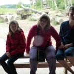Sarah, Caro und Lukas